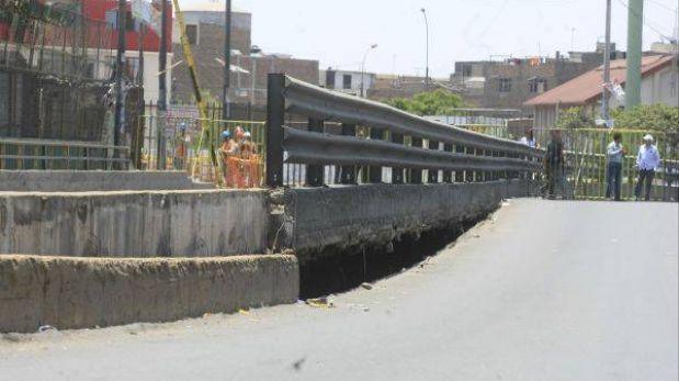 Parte del puente Bella Unión será demolido para colocar estructura provisional