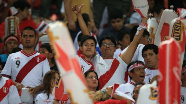 FOTOS: la llegada de la selección peruana al Estadio Nacional y el aliento de la hinchada blanquirroja
