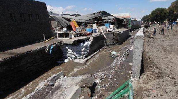 Ejecutivo transfirió más de S/. 665 mil para colegios afectados por lluvias en Arequipa