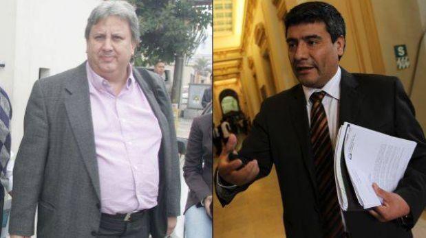 Hernán Garrido Lecca se reunió con congresista Wilder Ruiz por Andahuasi
