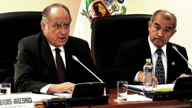 Ex ministro Flores-Aráoz reiteró que Garrido Lecca recomendó a israelíes