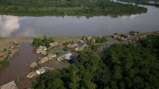 Alto Amazonas en emergencia por desborde del río Huallaga