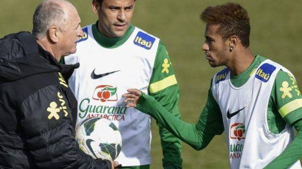 "Scolari le da ultimátum a Neymar: ""Él sabe que no es irremplazable"""