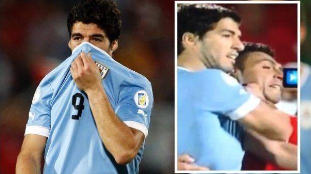 """Uruguay denunció a la FIFA por """"persecución"""" contra Luis Suárez"""