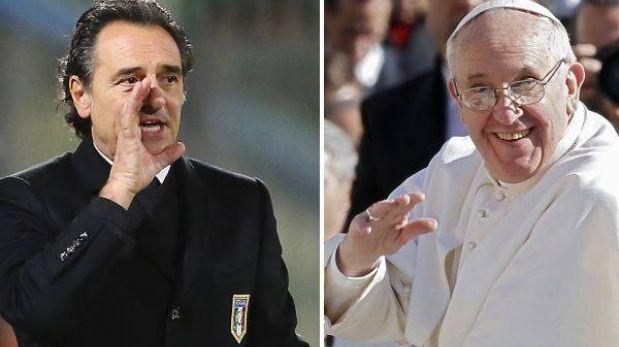 DT de Italia busca un amistoso ante Argentina para dedicárselo al Papa