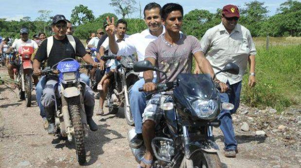 """Ollanta Humala: """"Hay políticos que se quieren tirar el servicio militar"""""""