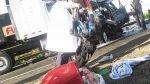 Imprudencia ha dejado 39 muertos en las pistas en menos de dos días - Noticias de luis quispe candia