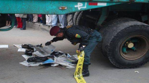 Tráiler arrolló a fieles en procesión y mató a tres personas en Jauja