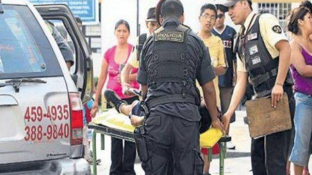 Chiclayo: delincuente murió durante persecución y balacera con policías