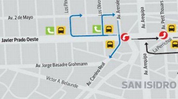 Reordenamiento en la Av. Javier Prado: así deben circular los vehículos