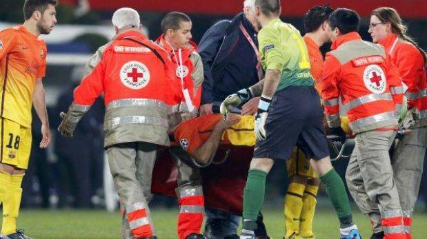Mascherano será baja seis semanas en Barcelona por rotura de ligamentos