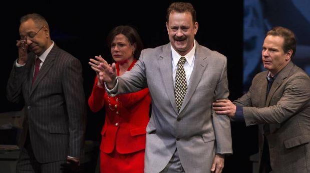 """FOTOS: Tom Hanks y lo mejor de su exitoso debut en Broadway con """"Lucky Guy"""""""