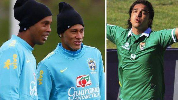 Bolivia jugará el sábado ante un Brasil con Ronaldinho, Neymar y Pato