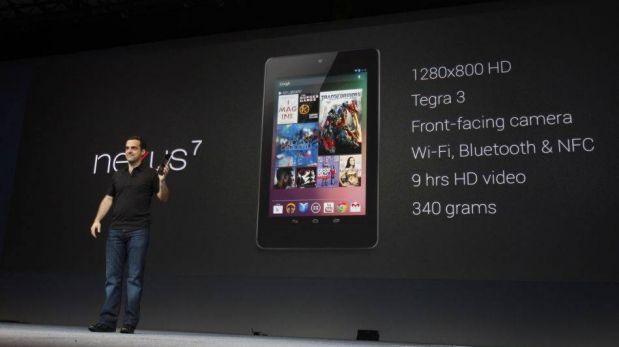 Google lanzaría una nueva versión de la Nexus 7 con pantalla de mayor resolución