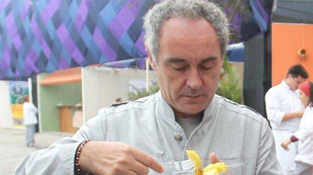 ¿Cuánto cuesta una cena con Ferran Adrià?