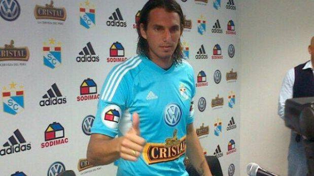 """'Zlatan' Fernández: """"Soy un profesional y ahora me debo a la camiseta de Cristal"""""""