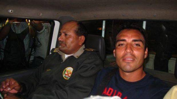 Leandro Fleitas estaba ebrio cuando chocó su auto en Chiclayo