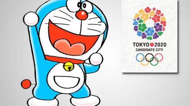 Doraemon ayudará a Tokio a ser sede de los Juegos Olímpicos 2020