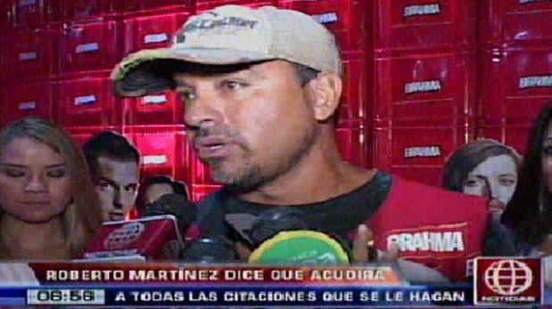 """Roberto Martínez: """"No le he hecho daño a nadie, seguiré con mi vida normal"""""""