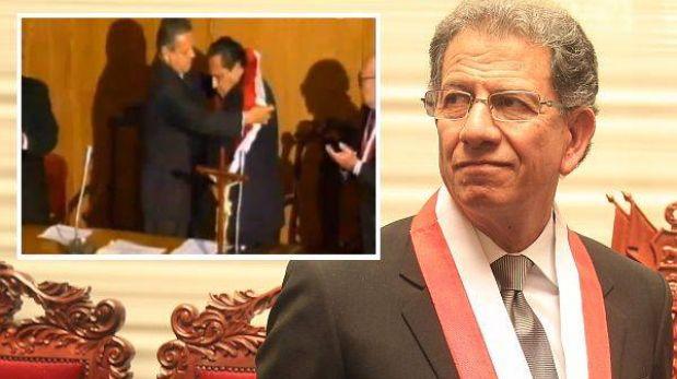La historia de la banda presidencial con la que juró Máximo San Román
