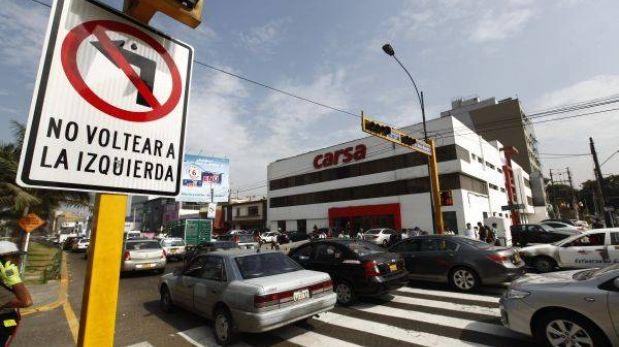 Municipalidad de Lima evalúa variar desvíos cerca de Av. Javier Prado