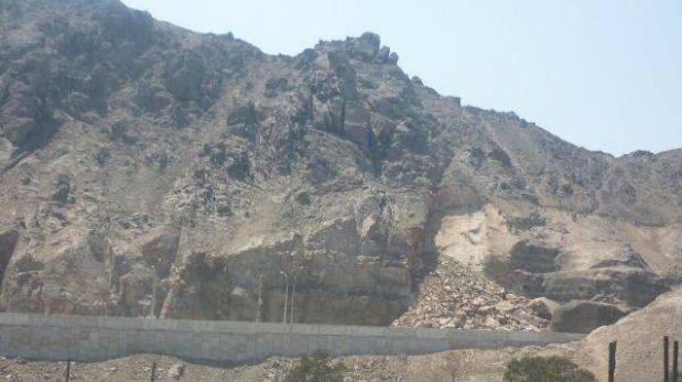 Derrumbe en cerro afecta obra de túnel que unirá Rímac y SJL