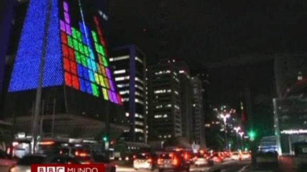 La pantalla de videojuegos más grande del mundo está en Brasil