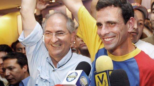 "Alcalde de Caracas: ""Nuestros pronósticos muestran espectacular giro a favor de Capriles"""