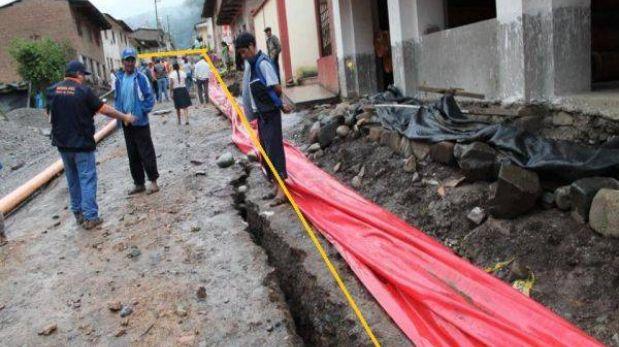 La Convención: erosión en carretera continúa poniendo en riesgo a familias