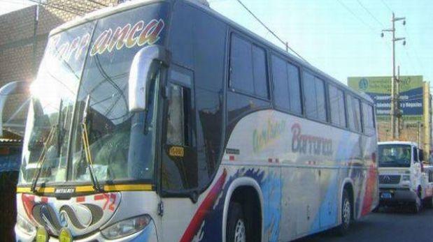 Policía frustró asalto al interior de bus interprovincial en Huaral
