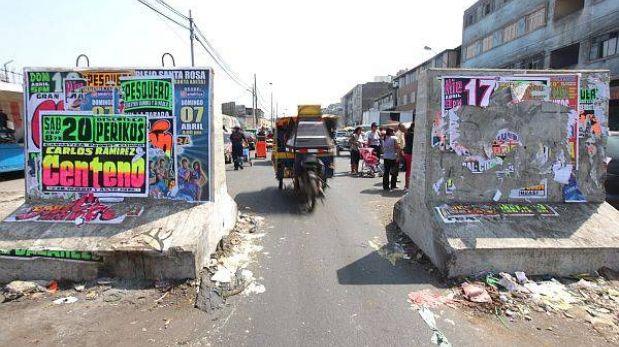 Lima espera recibir hoy la prórroga para retirar bloques en La Parada
