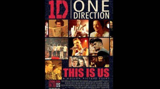 """This is us"", la película de One Direction ya tiene afiche"