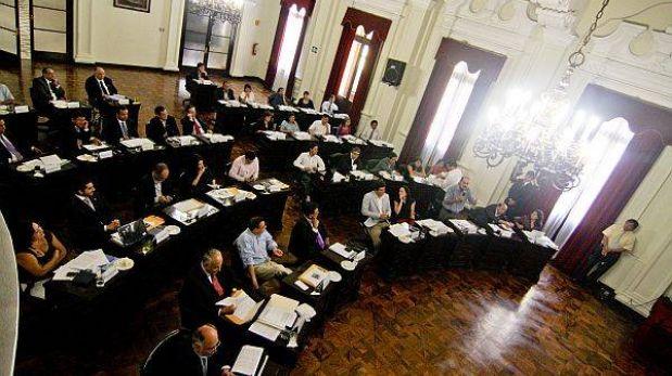 Nuevos regidores de Lima recibirán sus credenciales el jueves 25 de abril