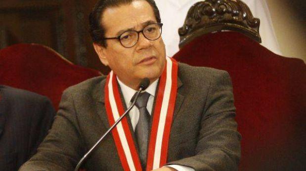 """Enrique Mendoza: """"Hemos fumigado el Poder Judicial sacando 77 jueces"""""""