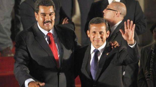 TC defendió viaje de Ollanta Humala para toma de mando de Nicolás Maduro