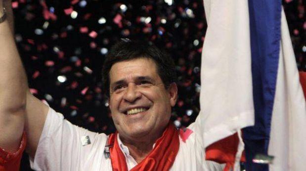 El empresario Horacio Cartes es el nuevo presidente de Paraguay