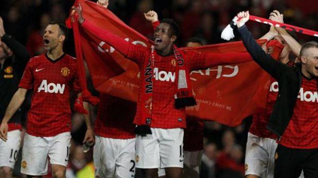 Manchester United se coronó campeón de la Premier League