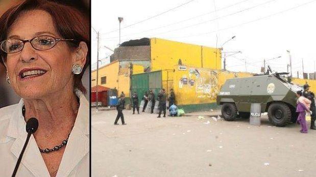 """Susana Villarán sobre futuro de La Parada: """"Será el Parque del Migrante de todas maneras"""""""