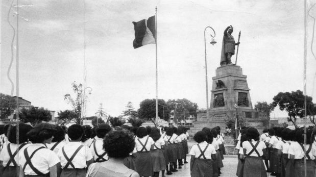 FOTOS: la histórica Plaza Manco Cápac en el pasado de Lima