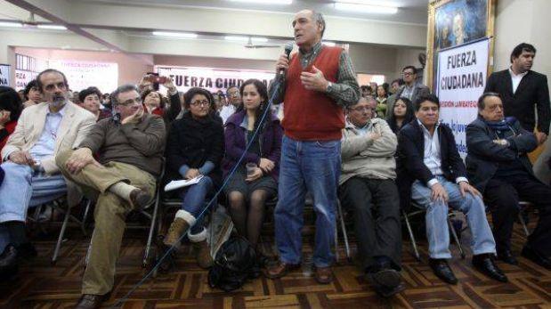 Ex aliados de Humala ratifican intención de participar en elecciones del 2014 y 2016