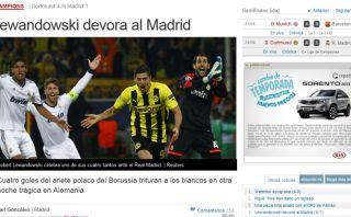 FOTOS: la prensa española criticó actitud del Real Madrid y elogió el poderío de Borussia Dortmund