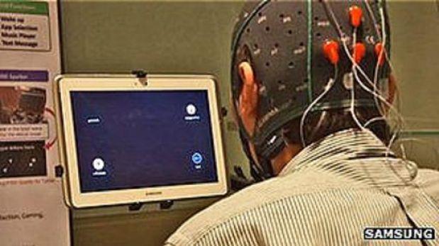 Una tablet controlada por la mente