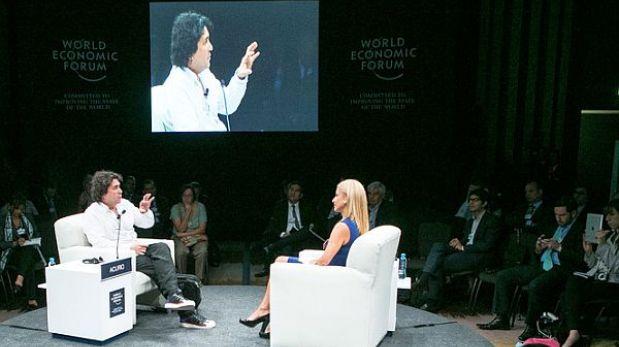 Gaston Acurio anunció en el WEF que abrirá una universidad de gastronomía