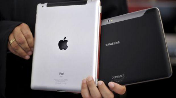 Las tabletas con Android están a punto de superar en ventas al iPad