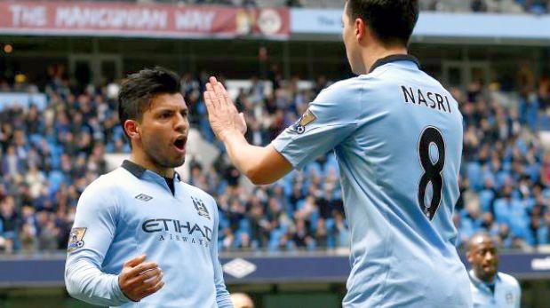 Manchester City se consolida en el segundo lugar de la Premier League