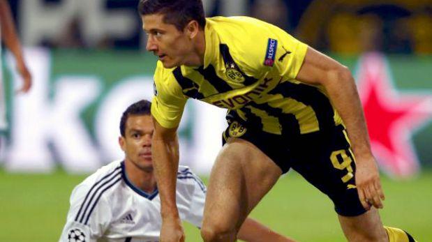 """Pepe a Lewandowski: """"Ya hiciste cuatro goles, ¿no es suficiente?"""""""