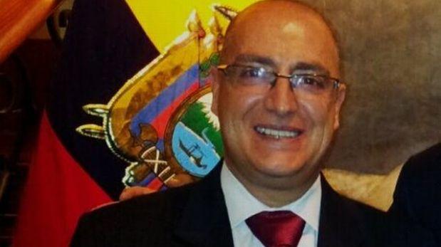 Vicecanciller ecuatoriano llegó a Lima para evaluar caso de embajador Riofrío
