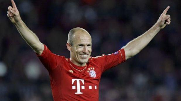 """Robben: """"Esto es histórico, ahora hay que terminar la tarea el 25"""""""