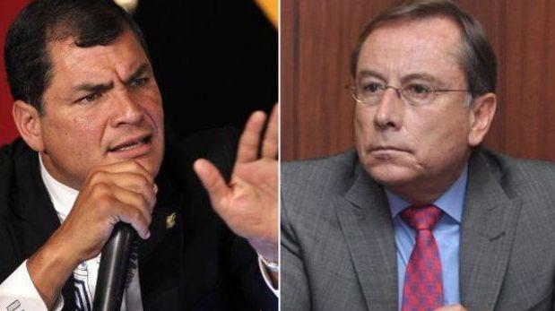 Ecuador no retirará a su embajador en Lima tras violento incidente