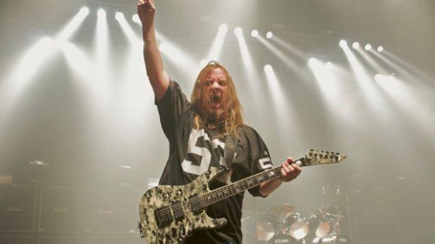 Murió Jeff Hanneman, guitarrista de la banda Slayer